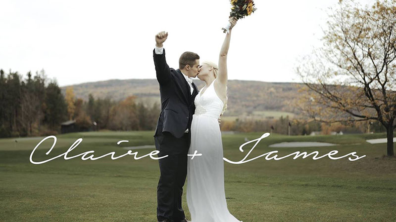 Wedding Video Canandaigua NY Bristol Harbour